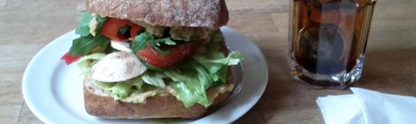 Vegan Ciabatta från Café Ariman