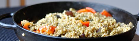 Kryddig couscous