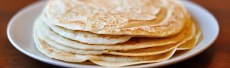 Pannkakor från Svenska klassiker utan ägg och mjölk