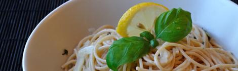 Pasta med fänkål och citron