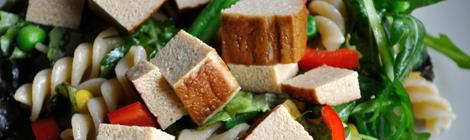 Snabb sallad med tofu