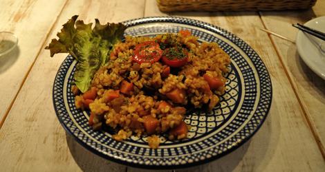 Curry med massa godsaker i