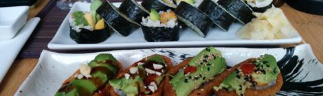 Sushi från Green Sushi